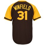 Majestic Men's San Diego Padres Dave Winfield #31 Cooperstown Cool Base 1978 Replica Jersey