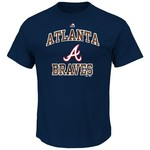 Majestic Men's Atlanta Braves Inside the Box T-shirt