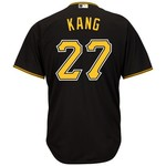 Majestic Men's Pittsburgh Pirates Jung-ho Kang #27 Cool Base Replica Jersey