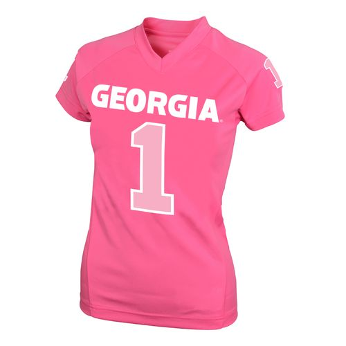 NCAA Kids' University of Georgia #1 Perf Player T-shirt