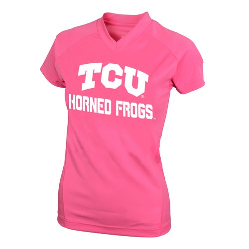 NCAA Kids' Texas Christian University #1 Perf Player T-shirt