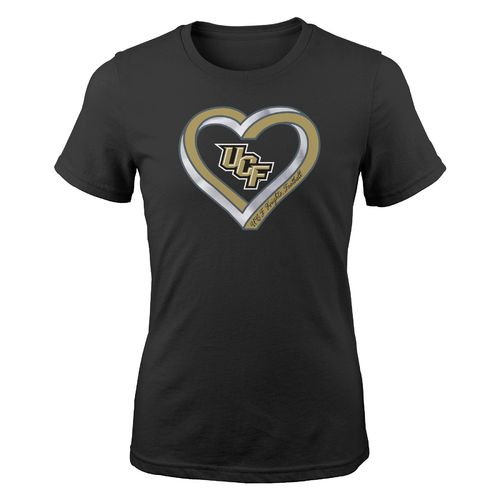 Gen2 Girls' University of Central Florida Infinite Heart Fashion Fit T-shirt - view number 1