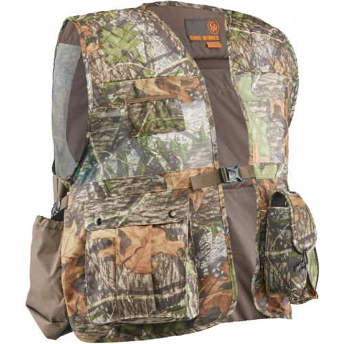 Display product reviews for Game Winner Men's Camo Mesh Turkey Vest