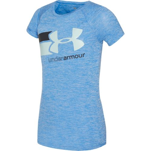 Under Armour™ Girls' Novelty Fast Lane Short Sleeve T-shirt