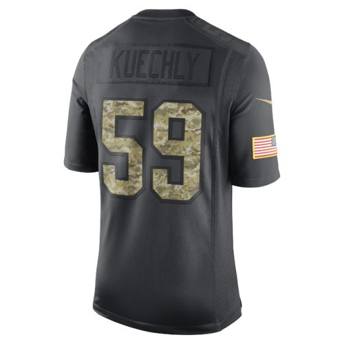 Nike Men's Carolina Panthers Luke Kuechly 59 STS Jersey - view number 1