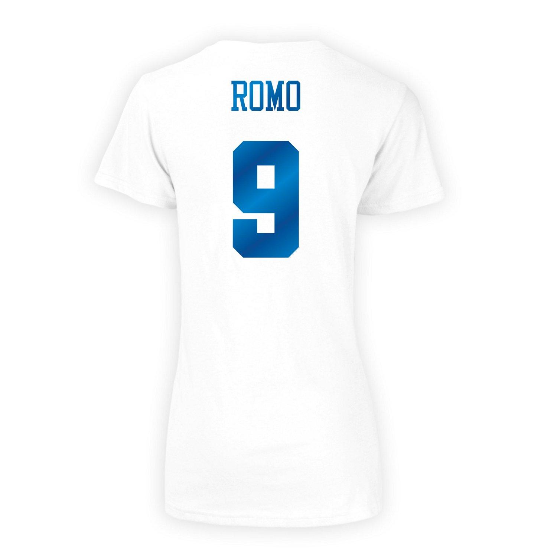 Dallas Cowboys Women's Tony Romo #9 Shimmer T-shirt