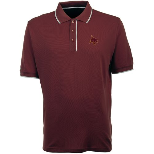 Antigua Men's Texas State University Elite Polo Shirt