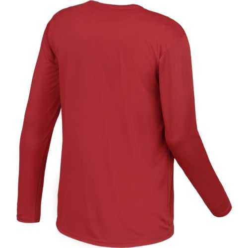 Magellan Outdoors Men's Casting Crew Moisture Management Long Sleeve T-shirt - view number 2