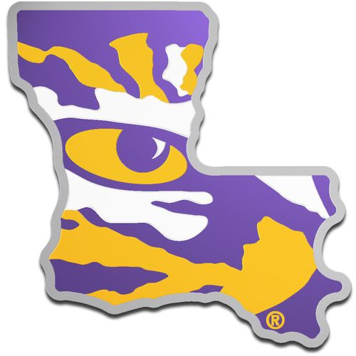 Stockdale Louisiana State University Laser-Cut Auto Emblem