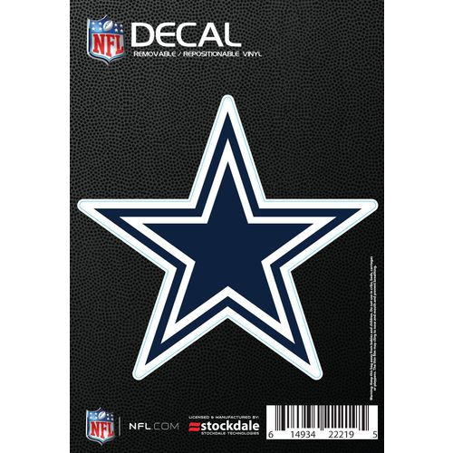 Display product reviews for Stockdale Dallas Cowboys Logo Decal
