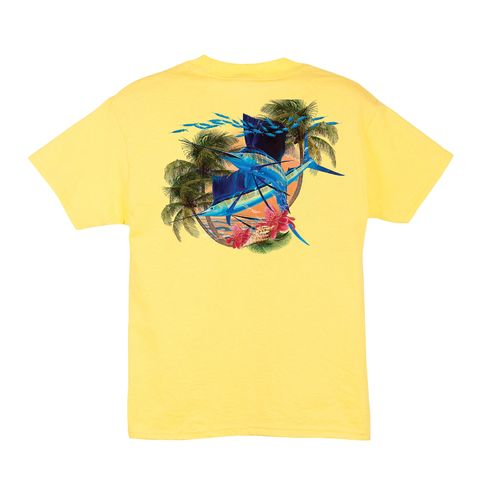 Guy Harvey Kids' Sailfish Island T-shirt