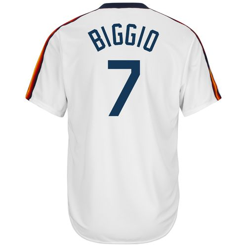 Majestic Men's Houston Astros Craig Biggio #7 Cool Base Cooperstown Jersey