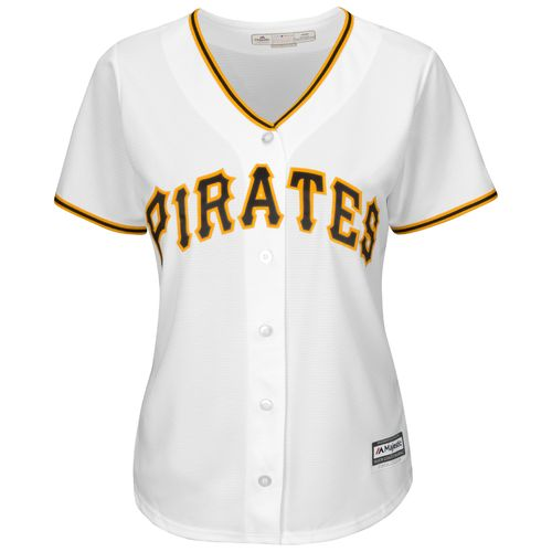 Majestic Women's Pittsburgh Pirates Andrew McCutchen #22 Cool Base® Replica Jersey - view number 3