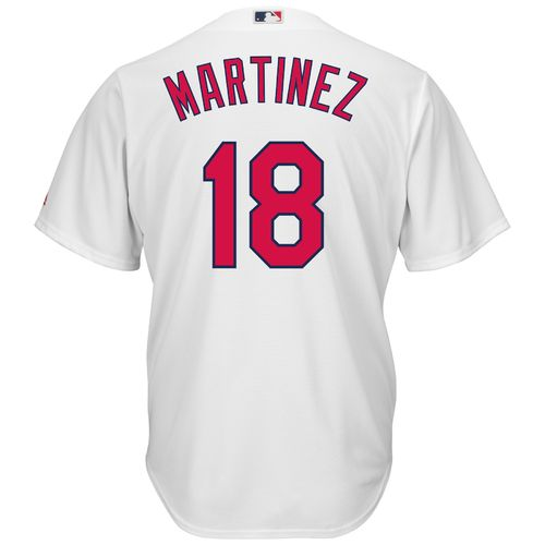 Display product reviews for Majestic Men's St. Louis Cardinals Carlos Martinez #18 Cool Base Replica Jersey