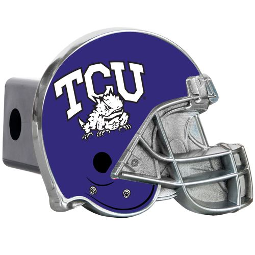 Great American Products Texas Christian University Helmet Trailer Hitch Cover