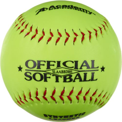 Academy Sports + Outdoors 12 in Softballs 6-Pack - view number 1