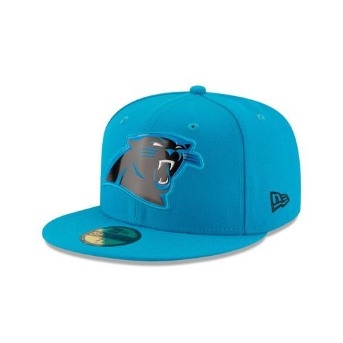 New Era Men's Carolina Panthers Bevel 59FIFTY Cap