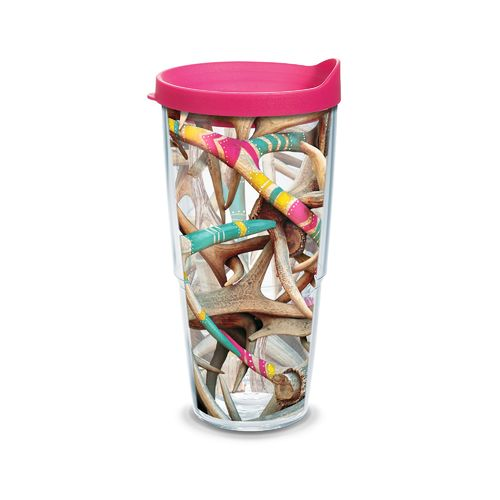 Tervis Girl Antlers 24 oz. Tumbler with Lid