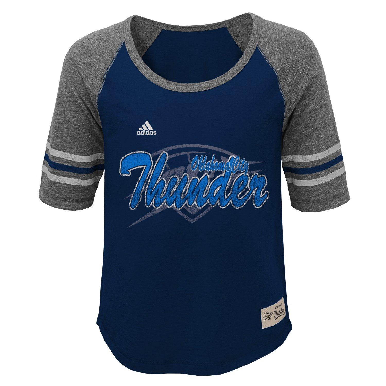 adidas™ Girls' Oklahoma City Thunder Hi-Lo T-shirt
