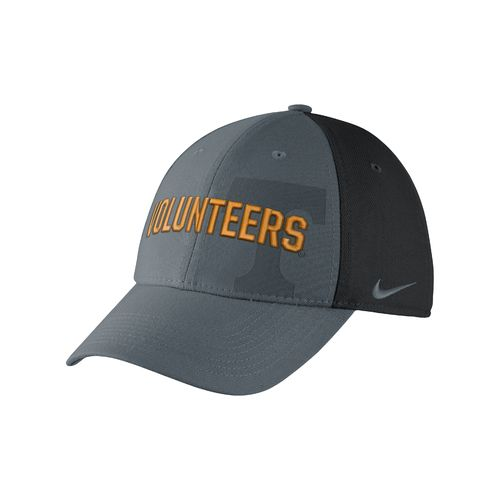 Nike Men's University of Tennessee Classic Wordmark Swoosh Flex Cap