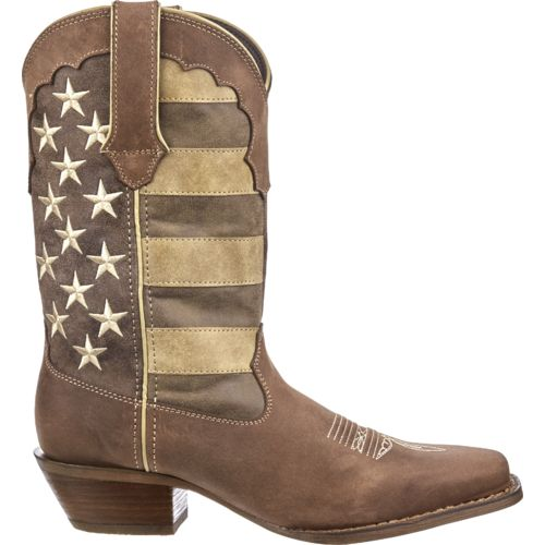 Display product reviews for Durango Women's Crush Distressed Flag Boots