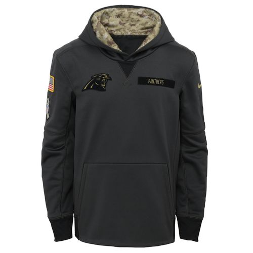 Nike Boys' Carolina Panthers Salute to Service Hoodie - view number 1
