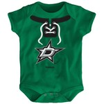 Reebok Infants' Dallas Stars Mock Lace Up Creeper