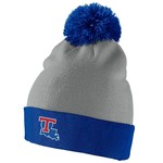 Nike™ Men's Louisiana Tech University Swoosh Pom-Pom Knit Cap