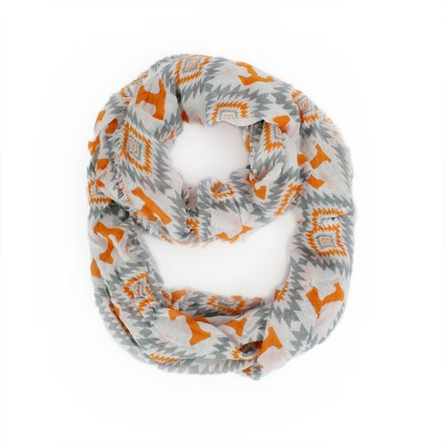 ZooZatz Women's University of Tennessee Southwest Infinity Scarf