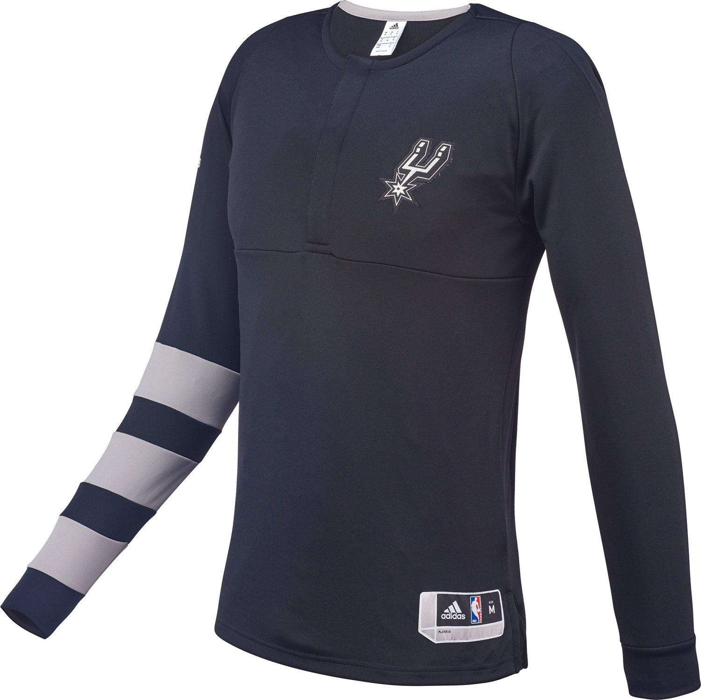 adidas™ Men's San Antonio Spurs 1/2 Zip Pullover