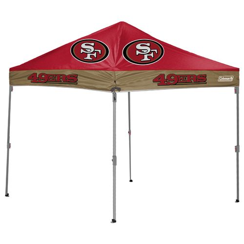 Coleman® San Francisco 49ers 10' x 10' Straight-Leg Canopy - view number 1