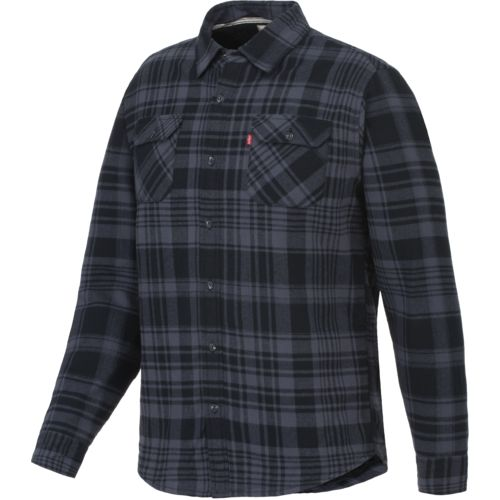 Levi's™ Young Men's Thornton Sherpa Lined Flannel Overcoat
