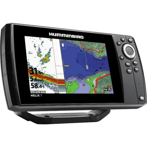 Humminbird helix 7 chirp si gps g2n fishfinder academy for Academy sports fish finders