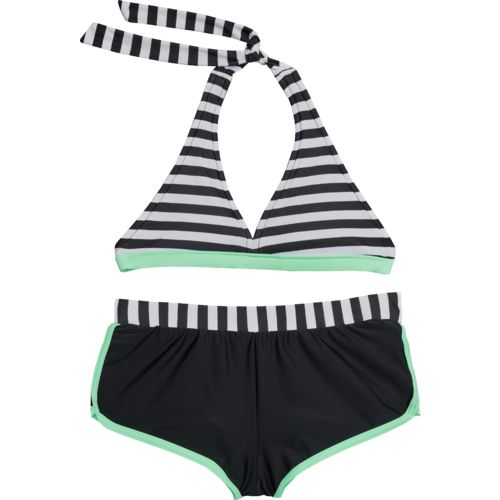 O'Rageous Kids Girls' Ships Ahoy 2-Piece Bikini Swimsuit