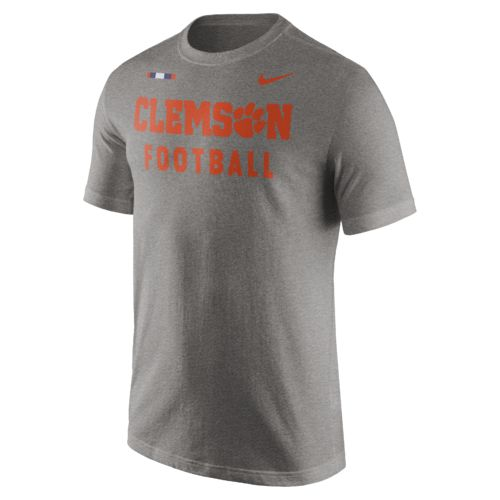 Nike Men's Clemson University Facility T-shirt - view number 1