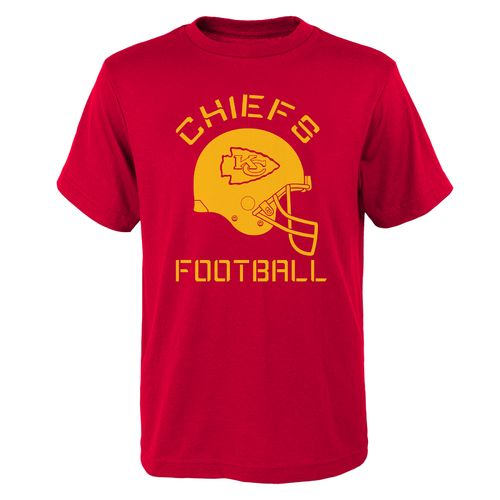 NFL Boys' Kansas City Chiefs Downhill Rusher T-shirt