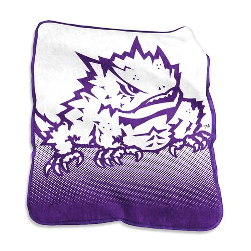 Logo™ Texas Christian University 50' x 60' Raschel Throw