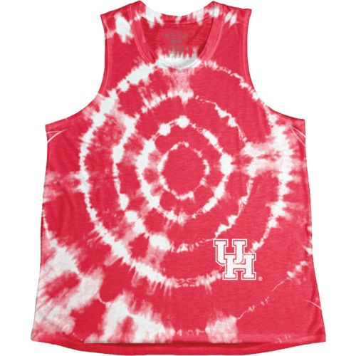 Blue 84 Women's University of Houston Retro Liquid Muscle Tank Top