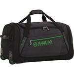 Magellan Outdoors 22 in Wheeled Duffel Bag - view number 5