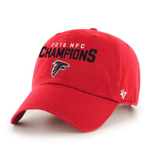 '47 Men's Atlanta Falcons 2016 NFC Champions Clean Up Cap