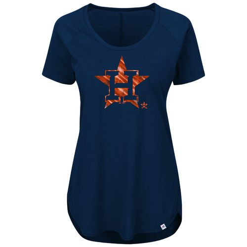 Majestic Women's Houston Astros Bright Lights T-shirt