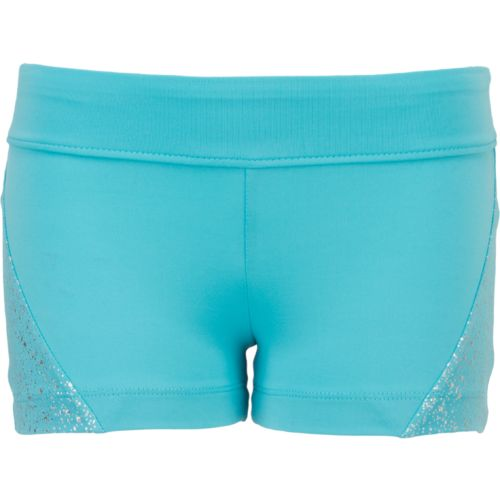 Capezio Girls' Future Star Geo Shine Dance Short