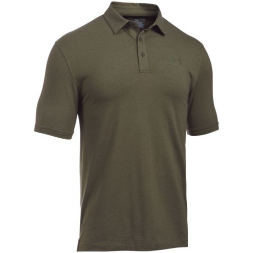 Under armour men 39 s tactical charged cotton polo shirt for Under armour charged cotton shirts mens