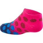 BCG Girls' Gradient Shiny Dot No-Show Socks 6 Pack - view number 2