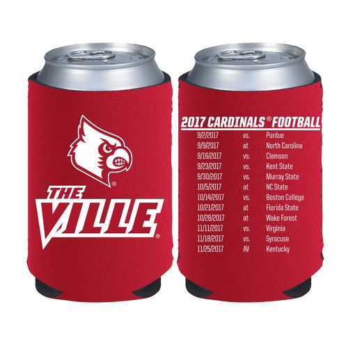 Kolder Kaddy University of Louisville 2017 Football Schedule 12 oz Can Insulator