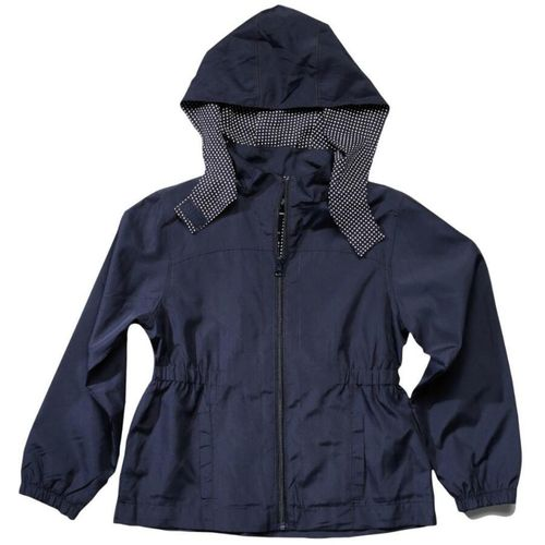 French Toast Girls' Detachable Hood Windbreaker