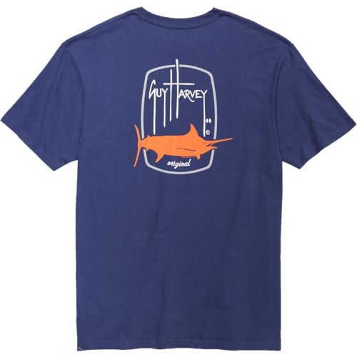 Guy Harvey Men's Barrel Logo T-shirt - view number 4