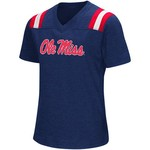 Colosseum Athletics Girls' University of Mississippi Rugby Short Sleeve T-shirt - view number 1
