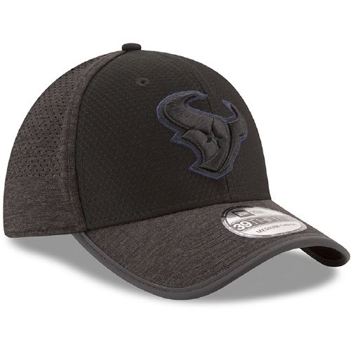 New Era Men's Houston Texans 39THIRTY Onfield Team Training Cap - view number 3