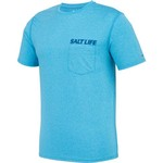 Salt Life Men's Life In The Cast Lane SLX Performance Short Sleeve T-shirt - view number 3